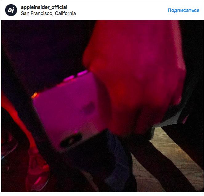 Еще несколько «живых» снимков iPhone X попали в сеть