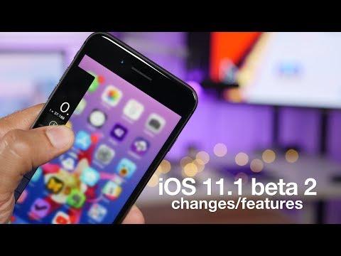 Полный список изменений iOS 11.1 beta 2