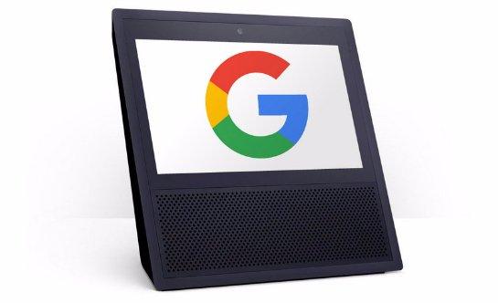 Google тоже работает над «умной» колонкой с экраном
