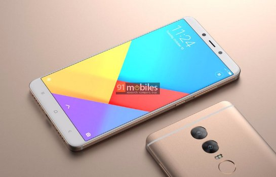 Рендеры Xiaomi Redmi Note 5 на основе слухов