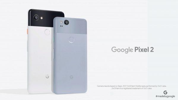 Google представила Pixel 2 и Pixel XL 2