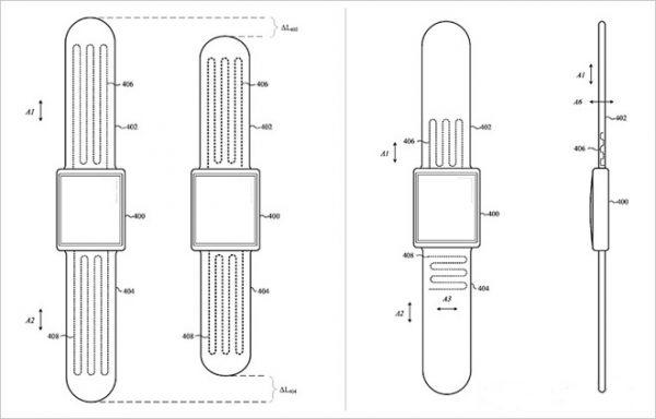 Apple разрабатывает саморегулирующиеся ремешки для Apple Watch