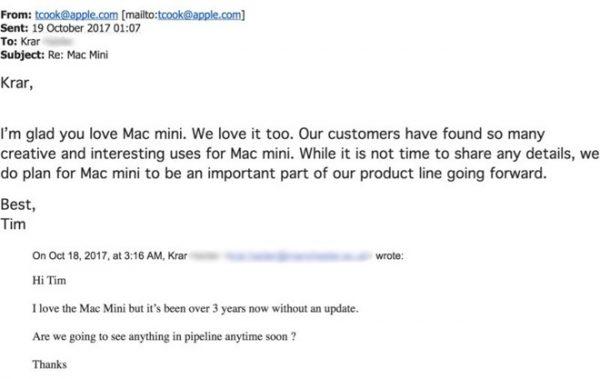 Apple не планирует прекращать производство Mac mini