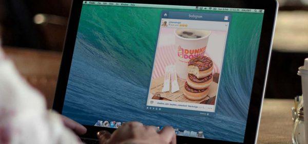 Новое приложение позволяет выкладывать в Instagram фото c MacBook