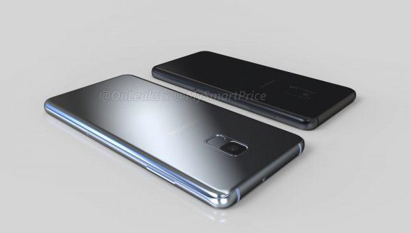 Появились рендеры моделей Samsung Galaxy A5 и A7 2018 года