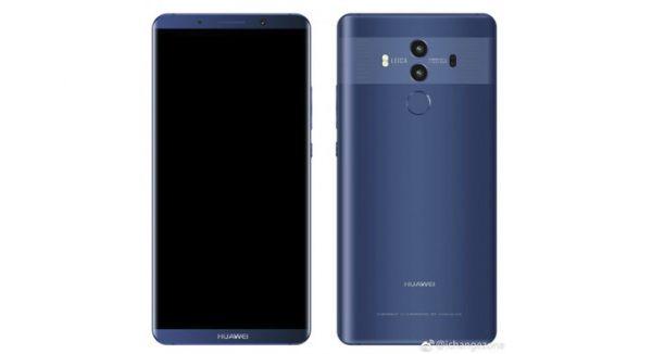 Пока Huawei тестирует Android 8.0 Oreo для Mate 9, рендеры Huawei Mate 10 попали в сеть