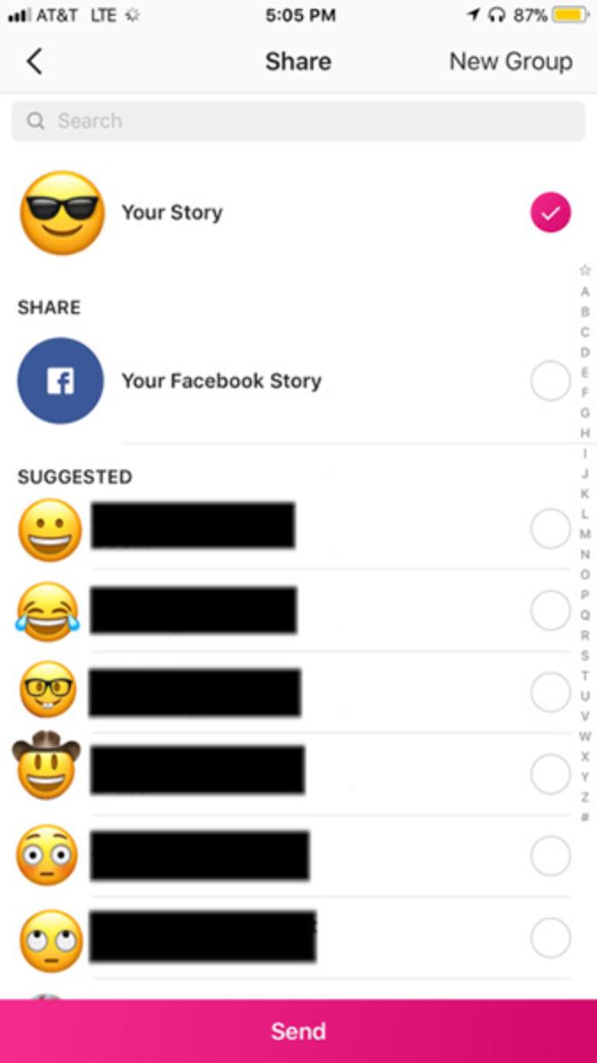 Instagram Stories теперь можно делиться в Facebook