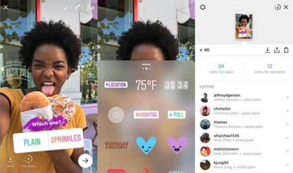 Теперь в Instagram Stories можно проводить опросы