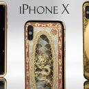 В Legend представили золотые iPhone X с драгоценными камнями