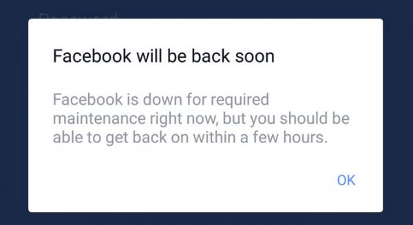 Facebook и Instagram не работают у множества пользователей