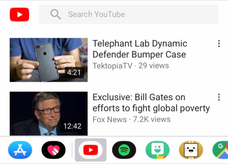 Google добавила поддержку iMessage в YouTube