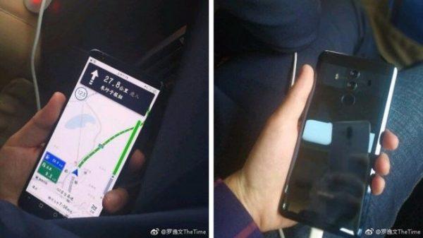 В сеть слили изображения Huawei Mate 10 Pro в новом корпусе