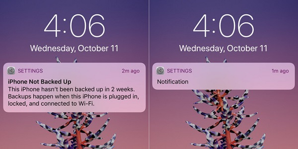 iPhone X покажет текст уведомлений только владельцу