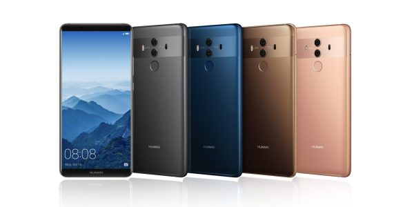 Анонс Mate 10 поможет Huawei занять второе место на рынке смартфонов