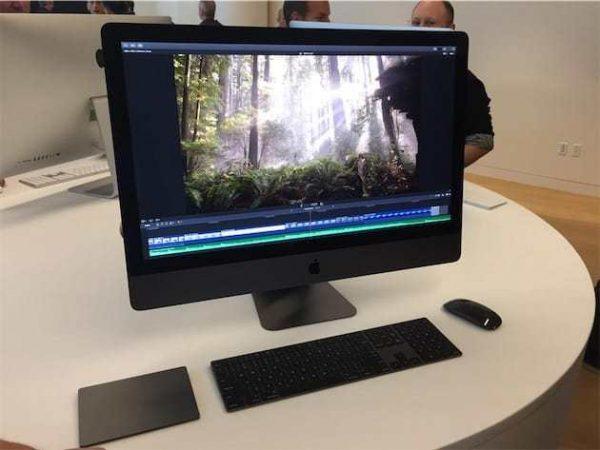 Apple продемонстрировала аксессуары для iMac Pro в цвете Space Grey