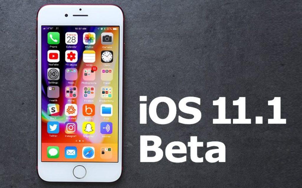 Apple выпустила iOS 11.1 beta 4 для разработчиков