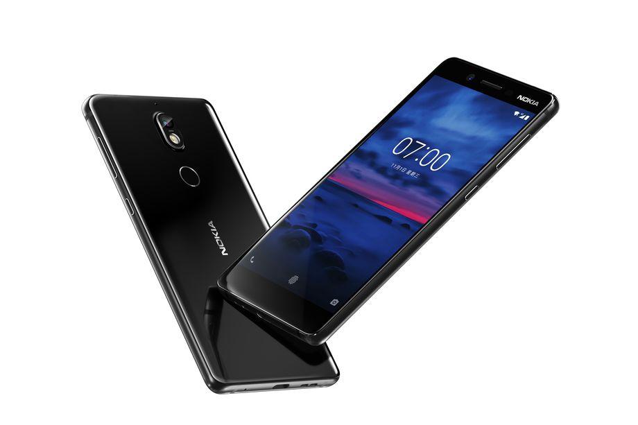 Представлен Nokia 7: стеклянная крышка, Snapdragon 630