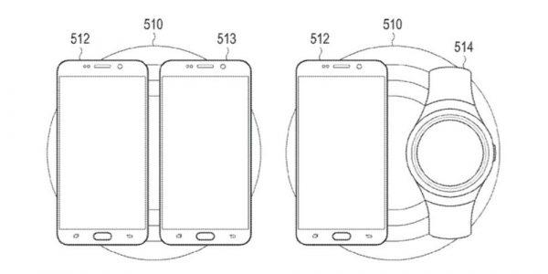 Samsung разрабатывает беспроводную зарядку на несколько устройств