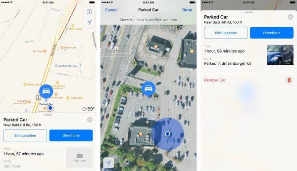 Как найти припаркованный автомобиль с помощью приложения «Карты»