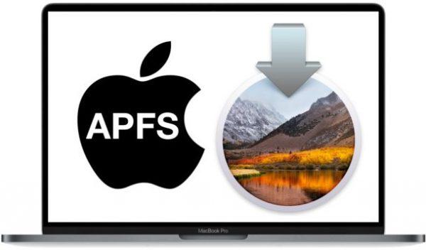 Как отключить переход на APFS в macOS High Sierra