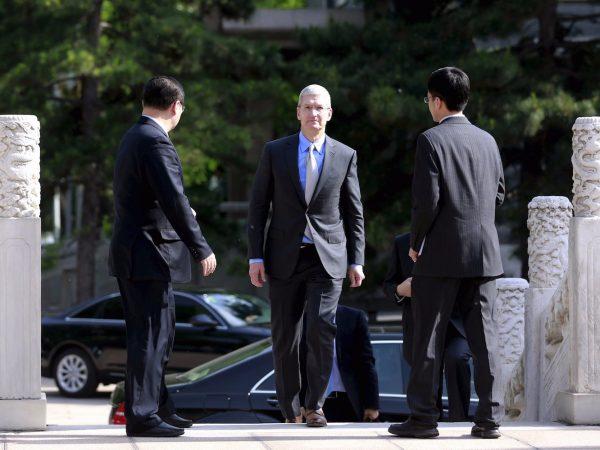 Тим Кук встретился с президентом Китая