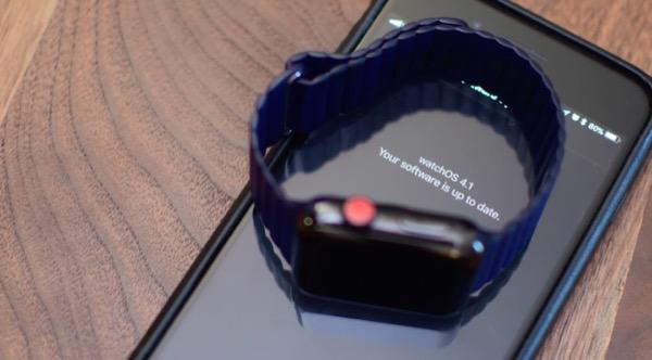 Apple выпустила WatchOS 4.1 beta 4