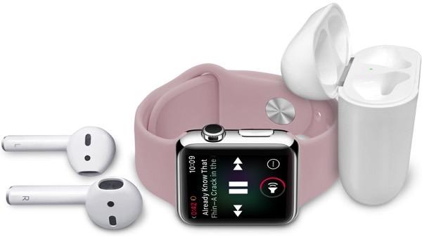 Поставщики Apple рассчитывают на увеличение продаж AirPods и Apple Watch Series 3 к концу года