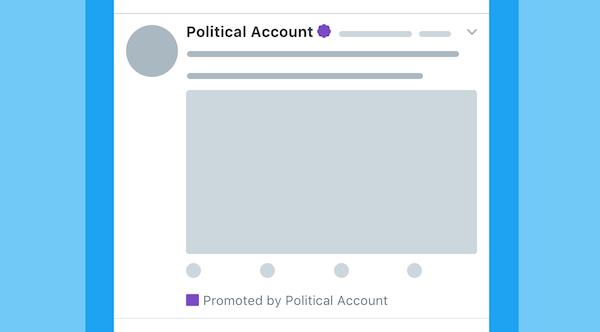 Twitter сделает политические рекламные посты заметнее