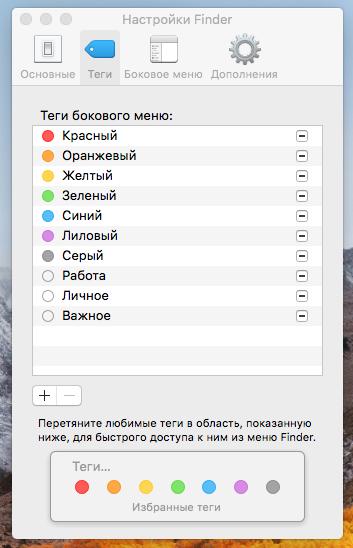 Все, что нужно знать о тегах в iOS 11