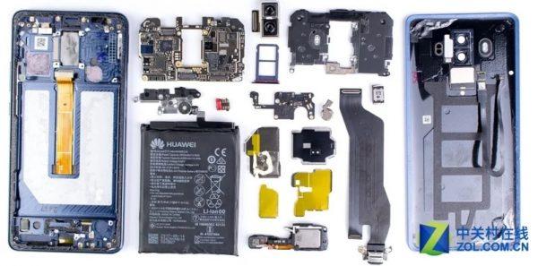 Что находится внутри Huawei Mate 10 Pro
