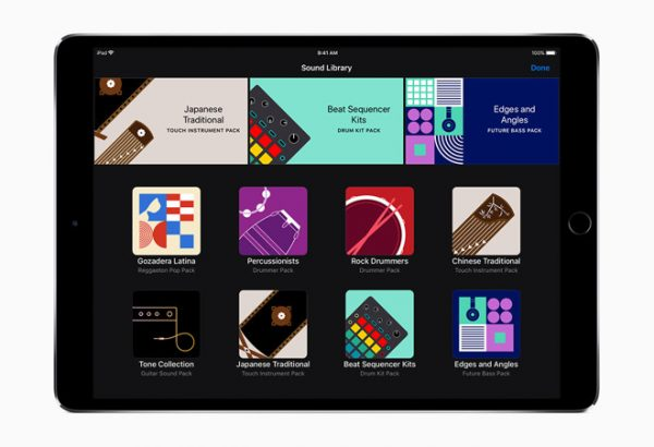 Apple выпустила GarageBand 2.3 с поддержкой iPhone X и новых инструментов