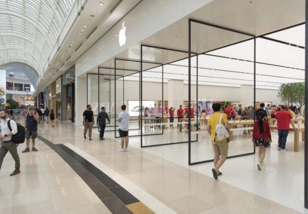 В Австралии открылся первый обновленный Apple Store