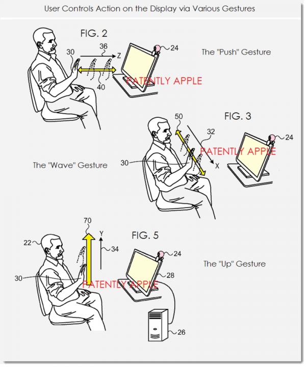 Новый патент Apple описывает использование жестов для управления Mac