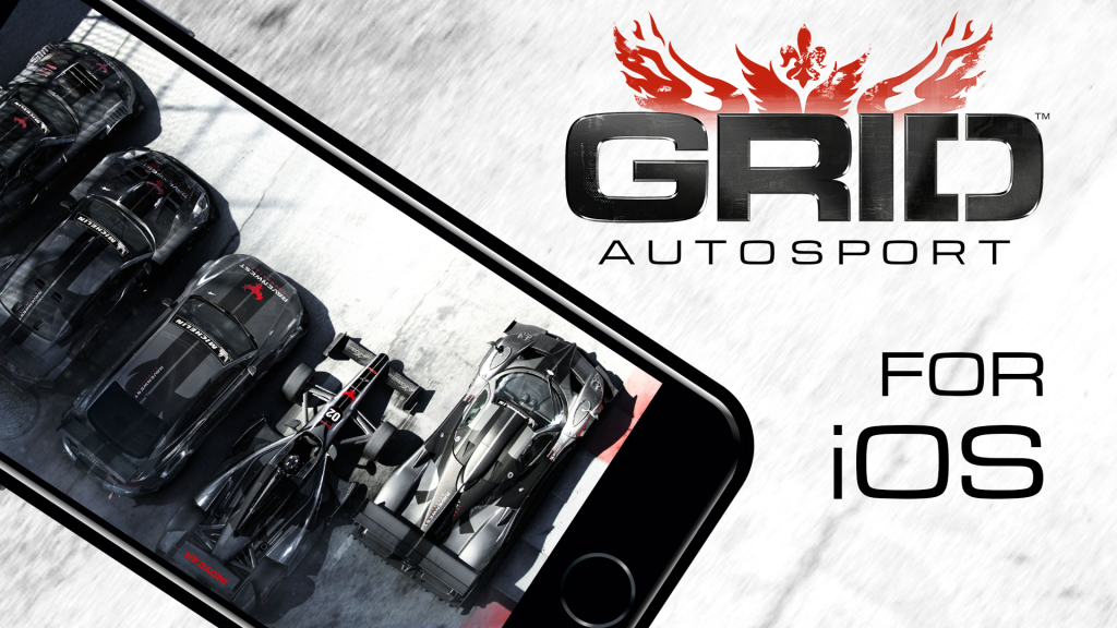 GRID Autosport для iOS выйдет 27 ноября