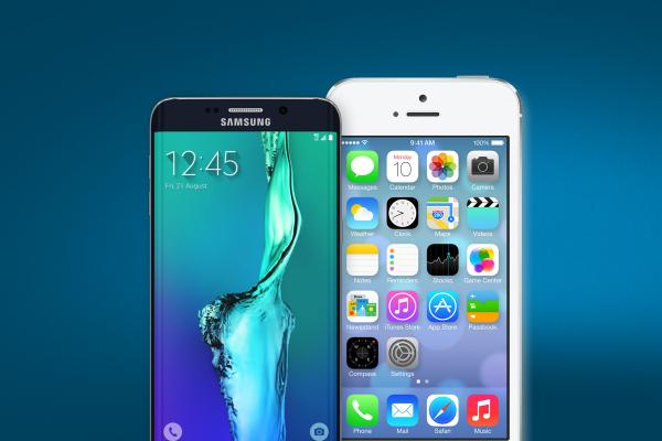 Apple все еще лидер рынка по продажам смартфонов, но Samsung догоняет