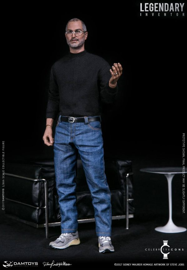 Компания DAM Toys создала экшн-фигурку Стива Джобса