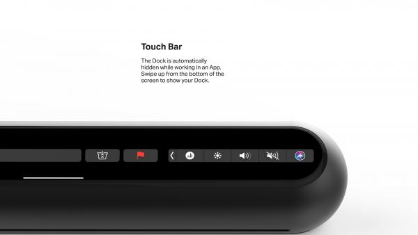 Появился концепт iMac с отдельной Dock-панелью