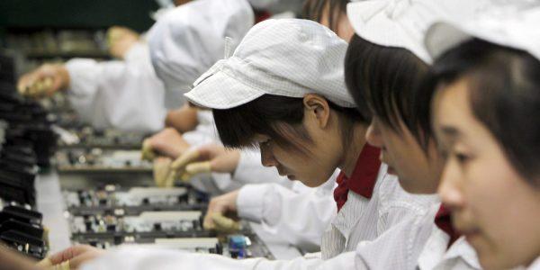 При сборке iPhone X применялся незаконный труд студентов-стажеров