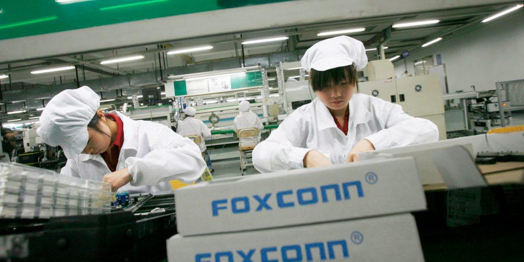Прибыль Foxconn снизилась из-за Apple