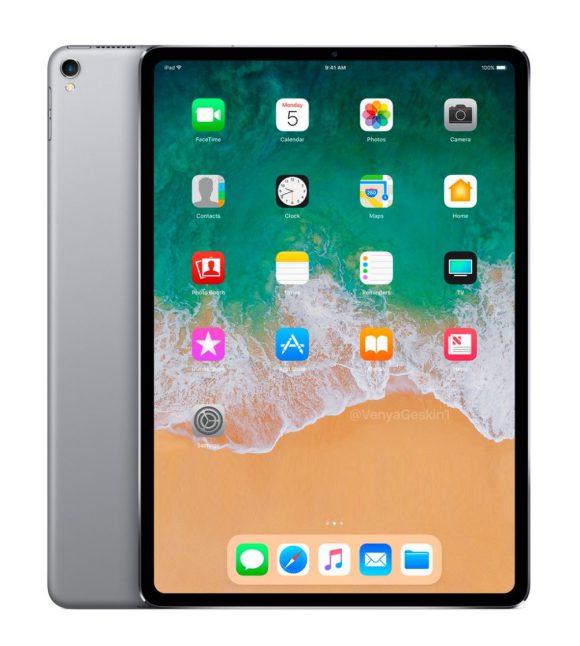 Новые рендеры iPad Pro