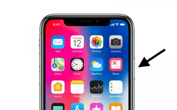 Как выключить, перезагрузить и «разбудить» iPhone X