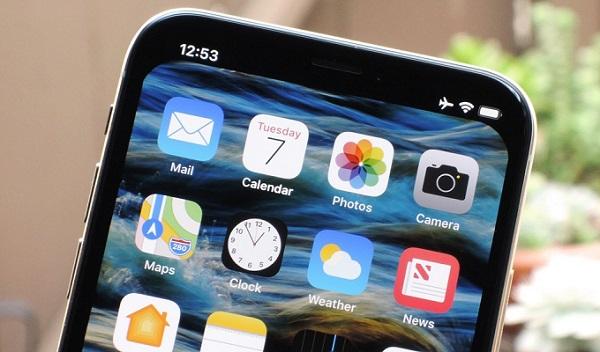 Как скрыть вырез экрана в iPhone X