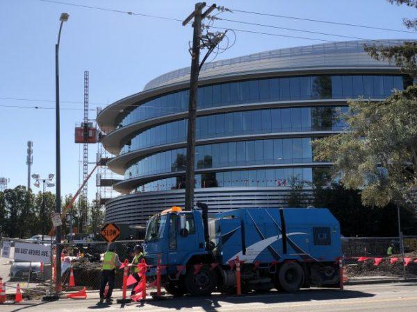 Apple достраивает второй кампус в окрестностях Купертино