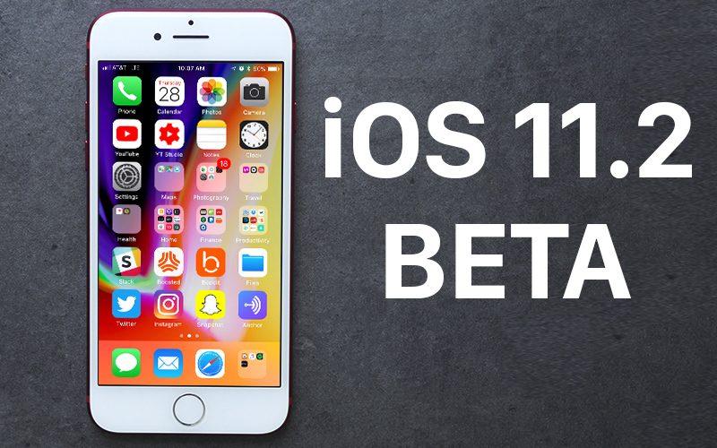 Вышла iOS 11.2 beta 2 для разработчиков