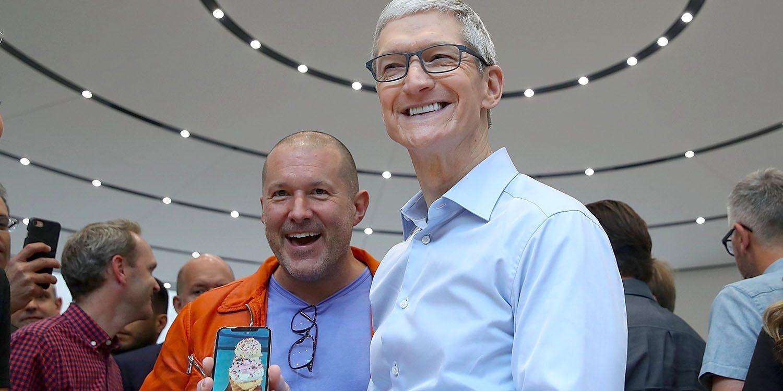 Джони Айв: iPhone X станет гораздо функциональнее через год