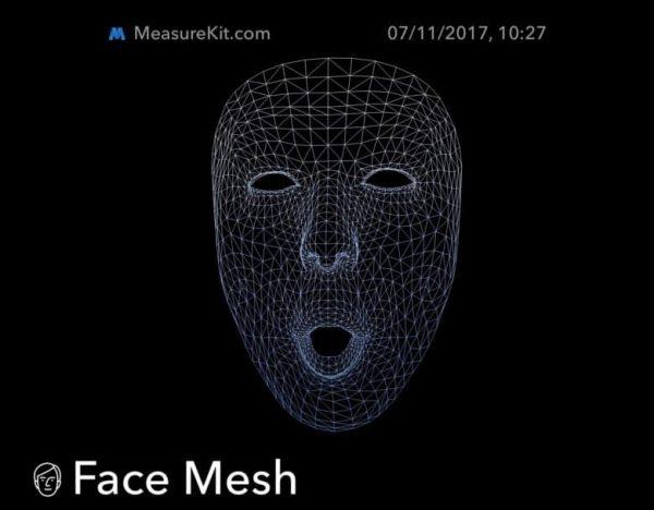 Как Face ID видит лицо пользователя