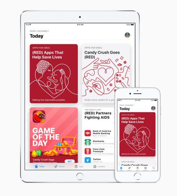 Apple сообщила о рекордном пожертвовании в глобальный фонд борьбы со СПИДом