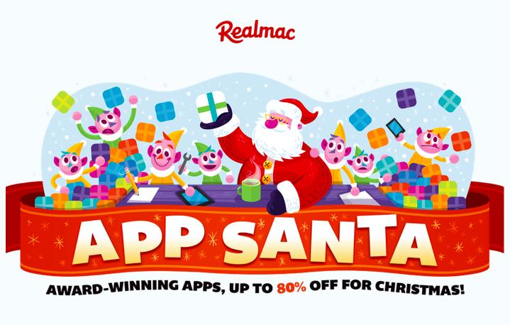 Компания Realmac предлагает скидки до 80% на популярные игры и приложения
