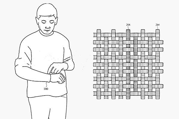 Apple запатентовала умную ткань для электронных устройств