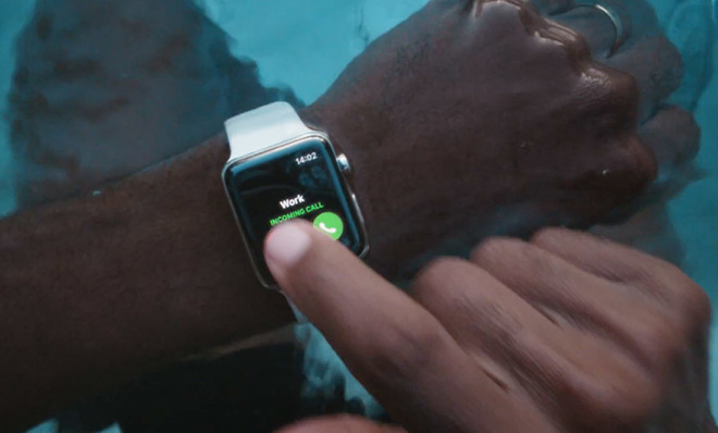 Apple сняла новую рекламу Apple Watch Series 3